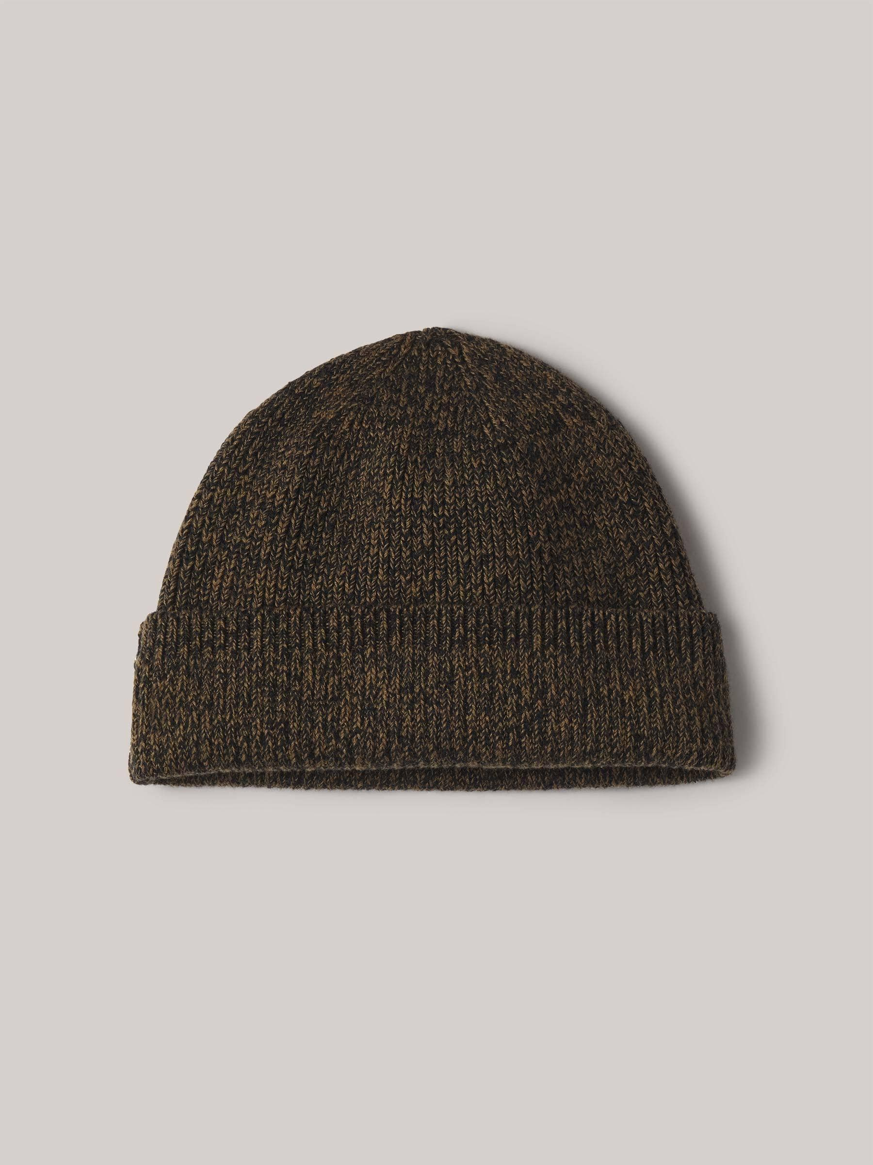 Buck Mason - Antique/Black Marl Cotton Rib-Knit Watch Cap