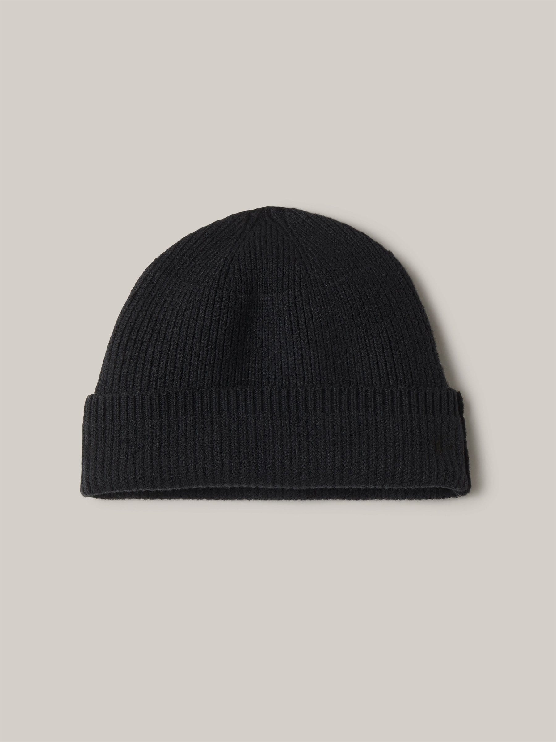 Buck Mason - Black Cotton Rib-Knit Watch Cap