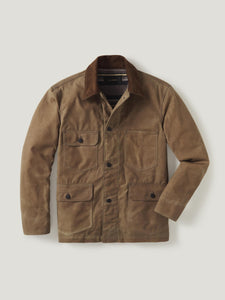 Deep Desert Dry Waxed Canvas Highland Jacket