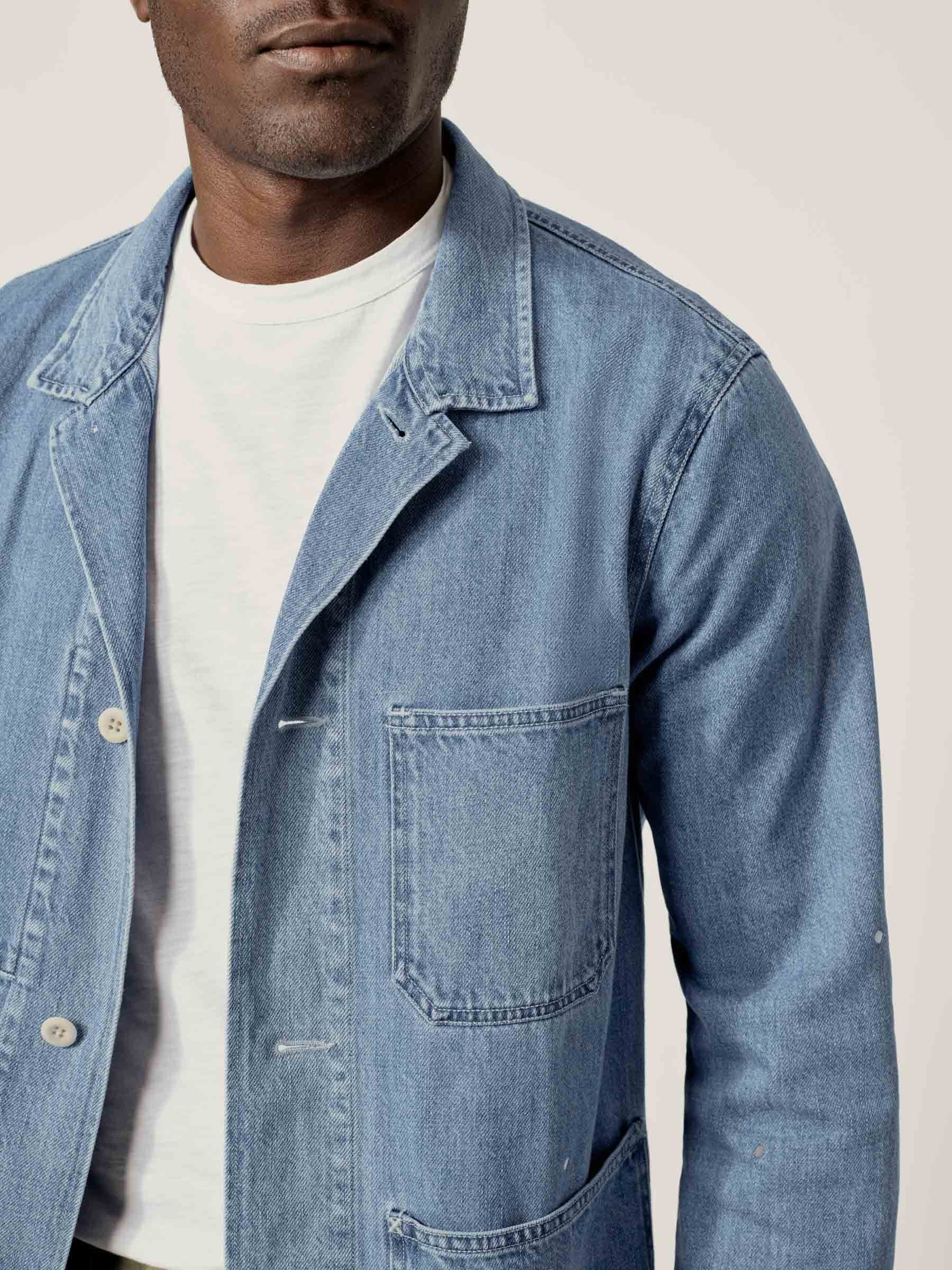 Buck Mason - L007 Denim Chore Jacket