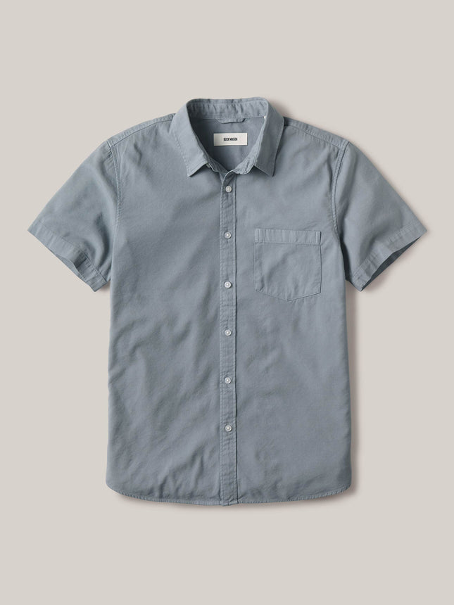 Pacific Draped Twill Short Sleeve One Pocket Shirt