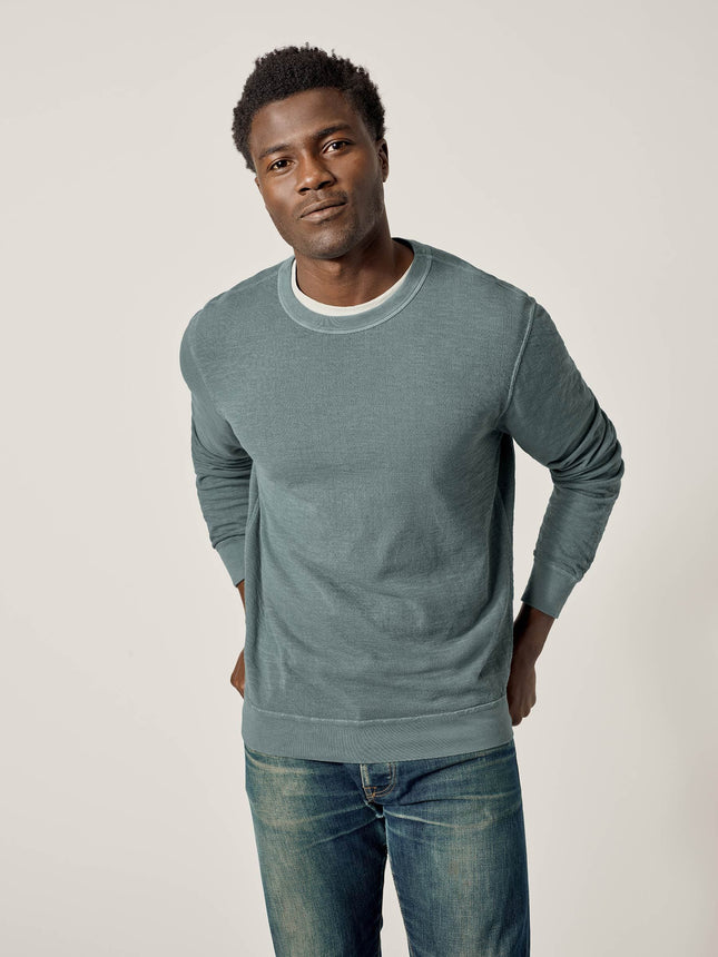 Buck Mason - Ranger Venice Wash Lightweight Double Slub Sweatshirt