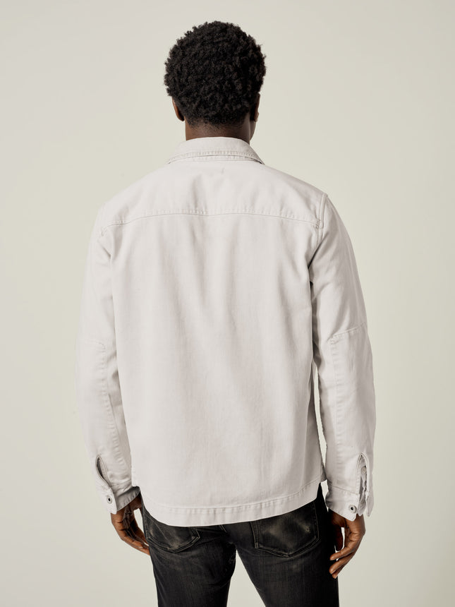 Buck Mason - Faded Sleet Bunker Twill Field Jacket