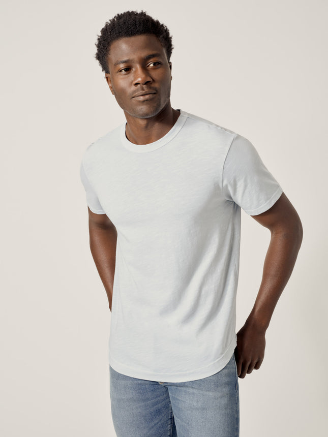 Taos Venice Wash Costa Curved Hem Tee