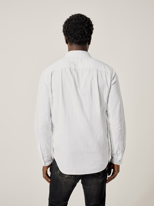 Buck Mason - White Double Weave Vintage Two Pocket Shirt