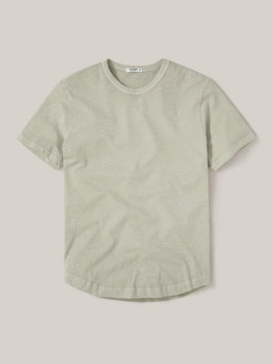 Franklin Venice Wash Slub Curved Hem Tee