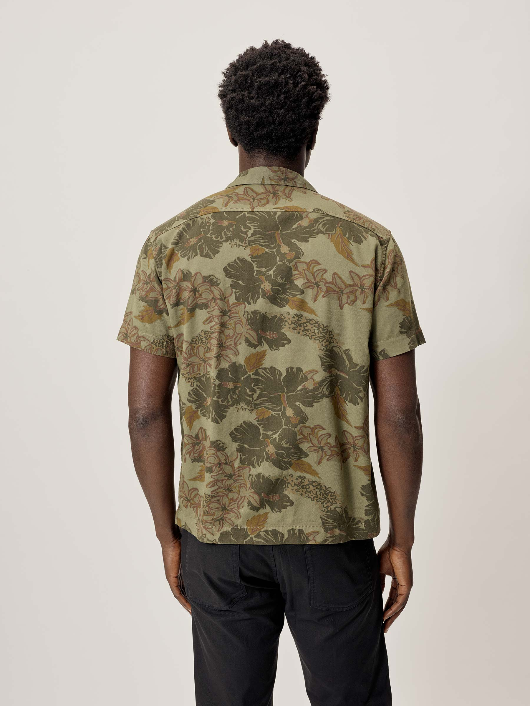 Buck Mason - Kauai Draped Twill Short Sleeve Vintage Camp Shirt