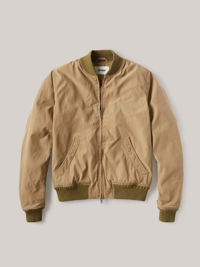 Elm Oil Cloth Bomber