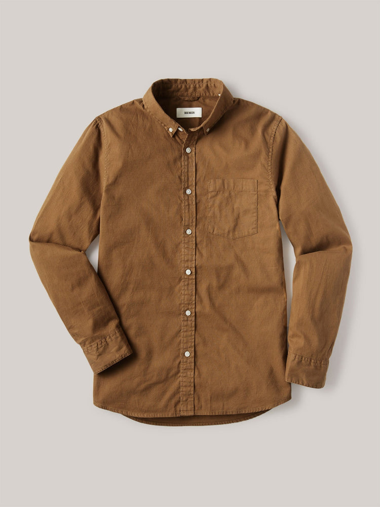 Copper Perfect Oxford One Pocket Shirt