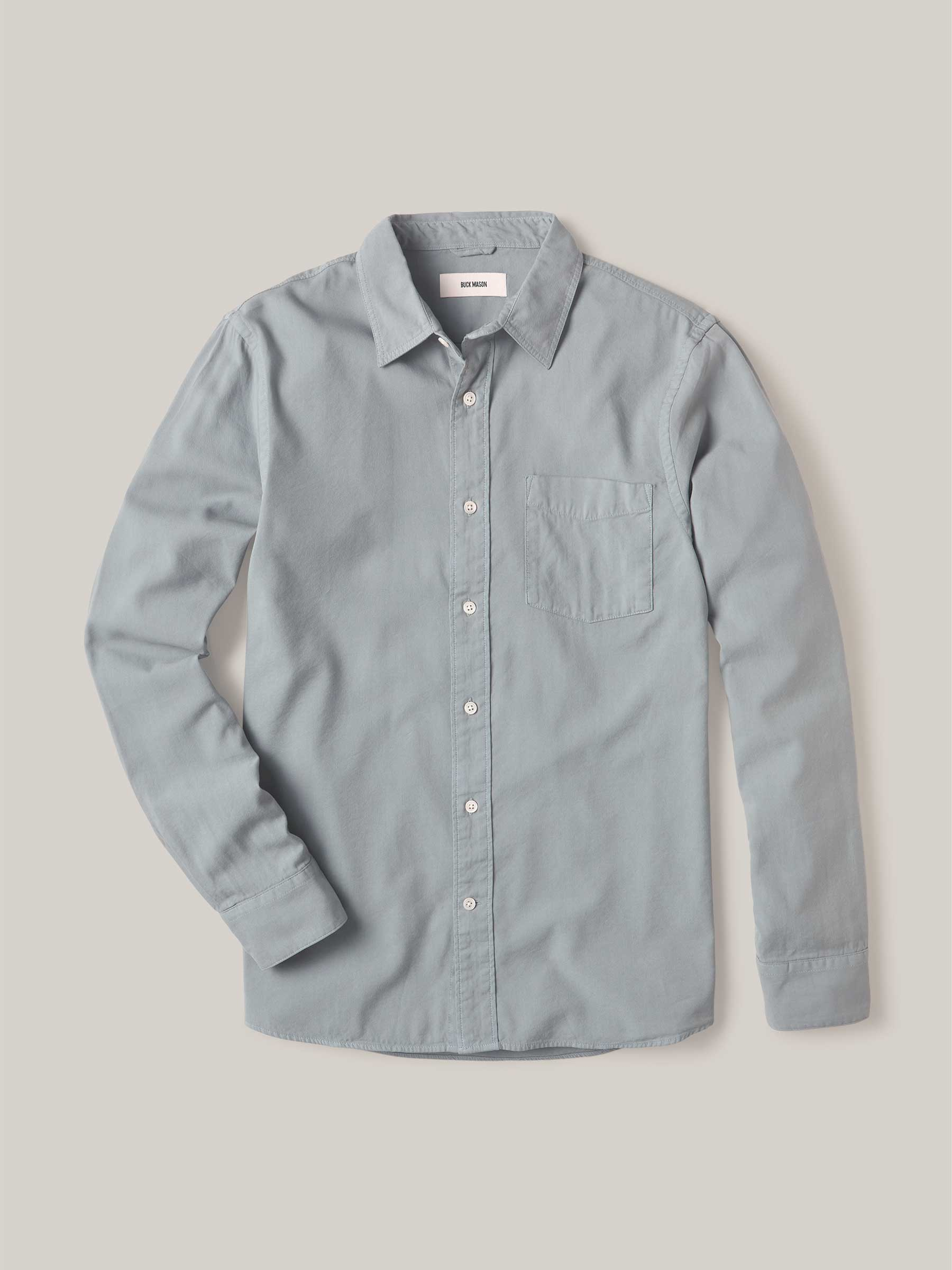 Buck Mason - Pacific Draped Twill One Pocket Shirt