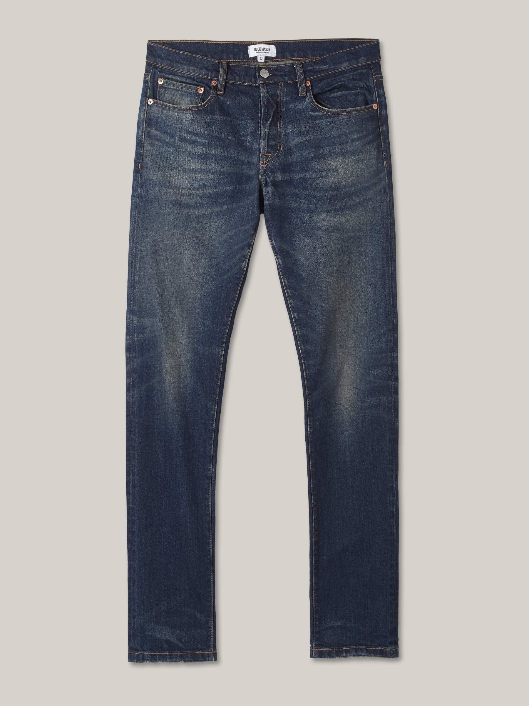 Buck Mason - 12-Month Wash Maverick Slim Jean