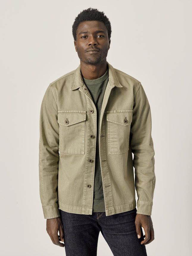 Faded Fatigue Bunker Twill Field Jacket