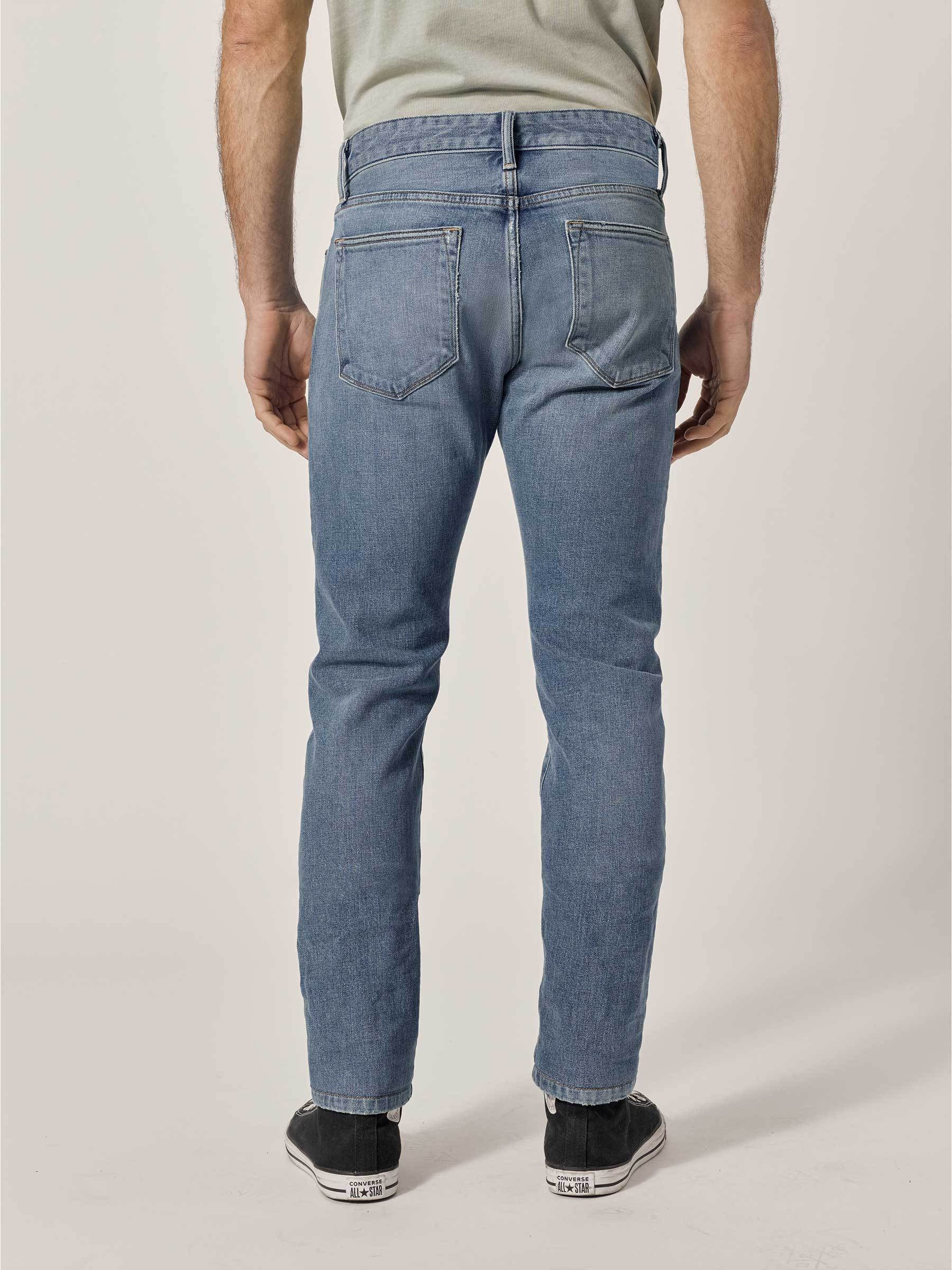 Buck Mason - L001 Light Wash Maverick Slim Jean
