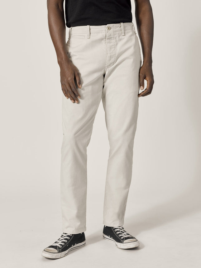 Natural Slub Twill Officer Pant