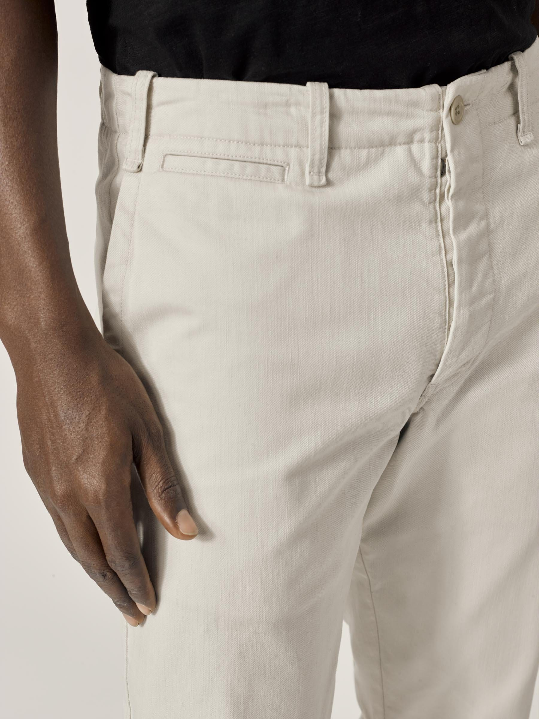 Buck Mason - Natural Slub Twill Officer Pant