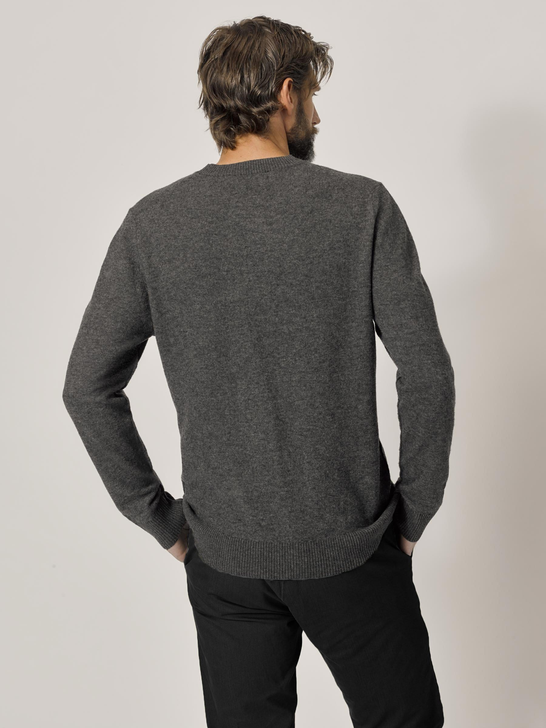 Buck Mason - Anchor Felted Fine Gauge Classic Crew Sweater