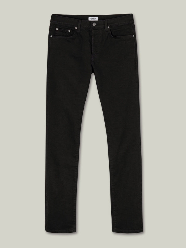 B001 Black Maverick Slim Jean