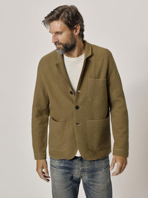 Camel Felted Chore Coat