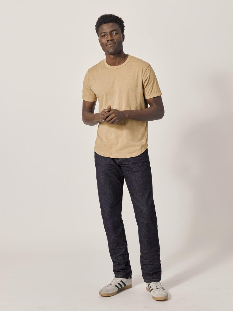 Canyon Slub Curved Hem Tee