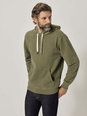 Dover Venice Wash Brushed Loopback Hooded Sweatshirt