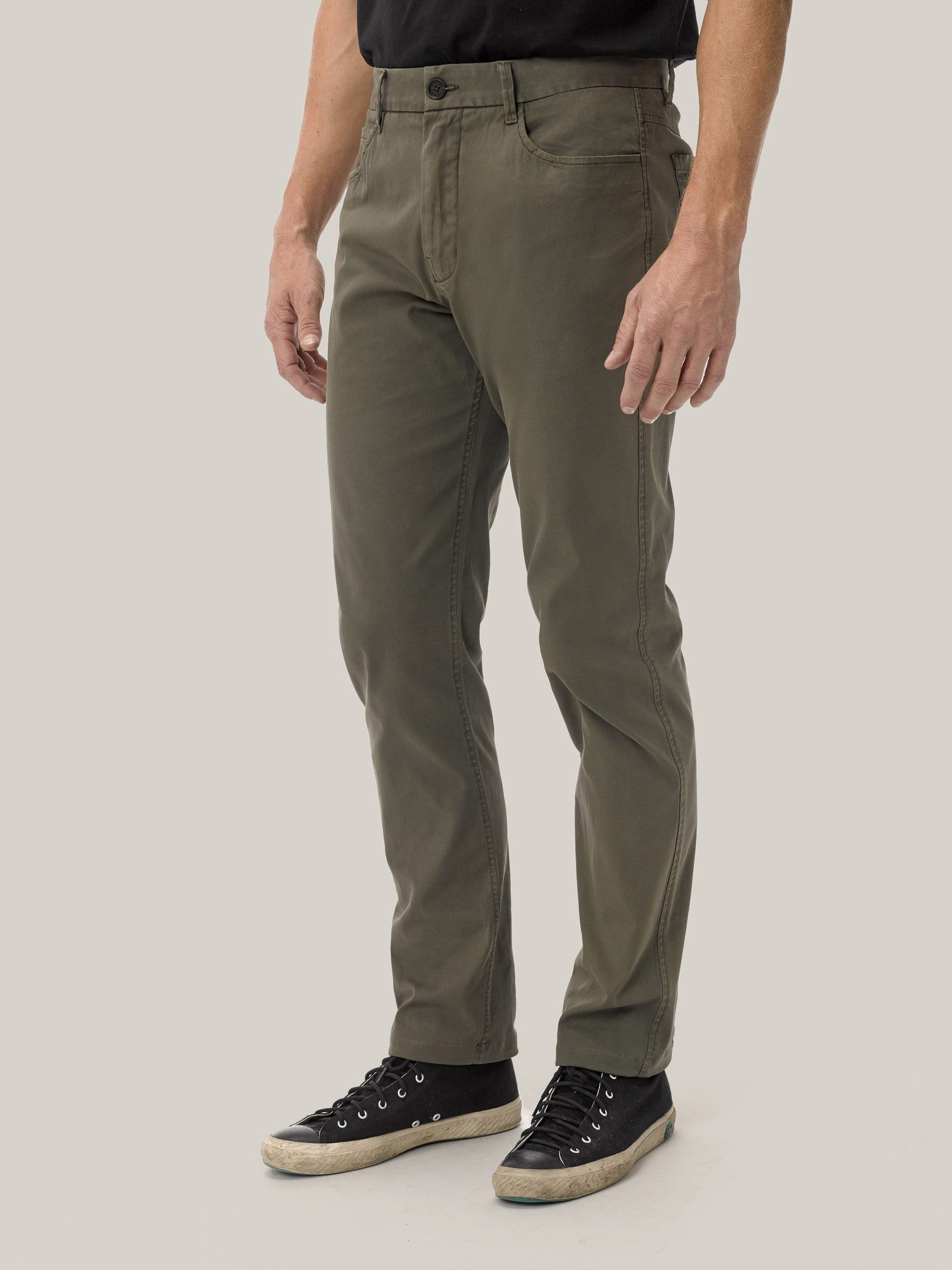 Buck Mason - Drab Vintage Canvas 5-Pocket Pant