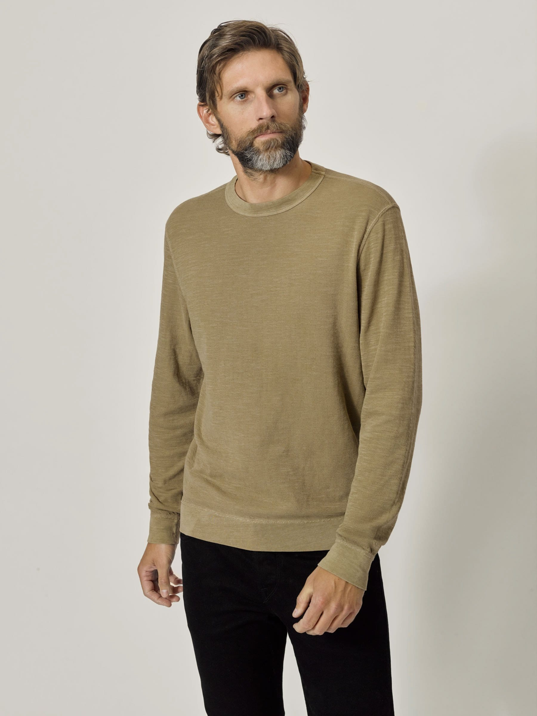 Buck Mason - Dune Venice Wash Lightweight Double Slub Sweatshirt