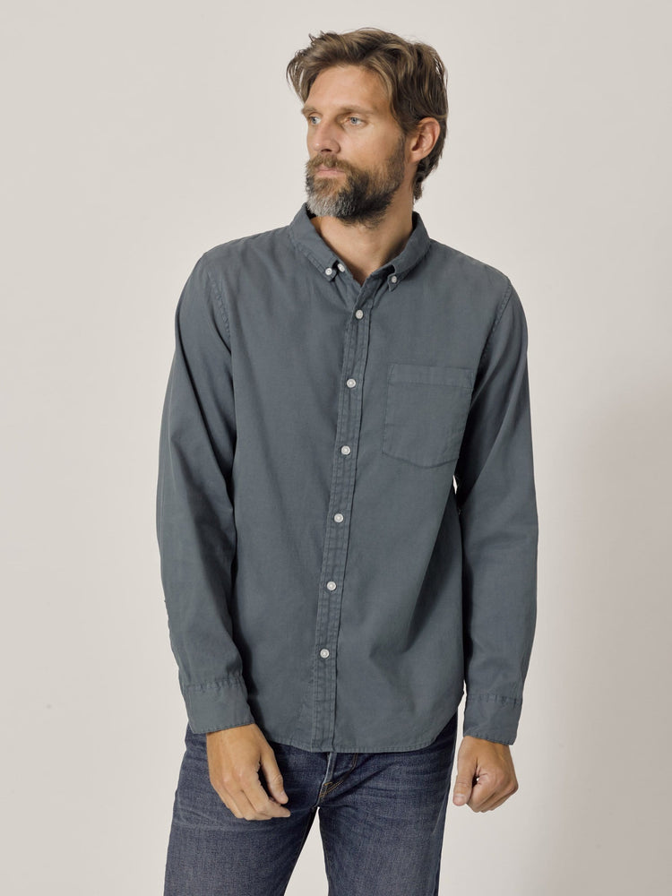 Dusk Perfect Oxford One Pocket Shirt