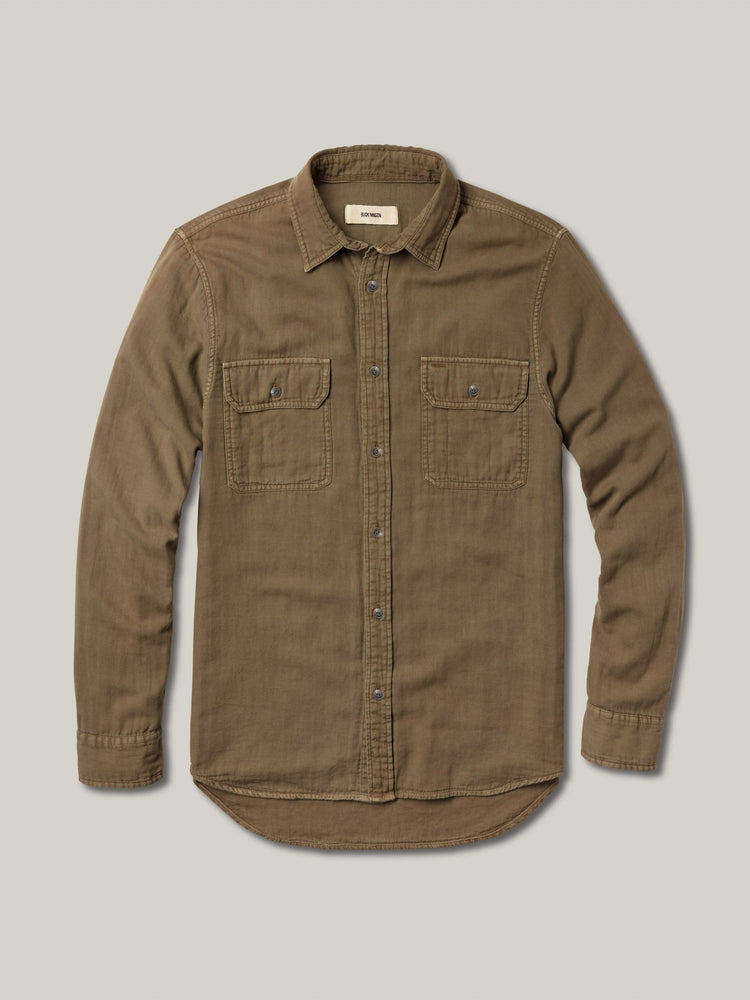 Elm Double Weave Vintage Two Pocket Shirt