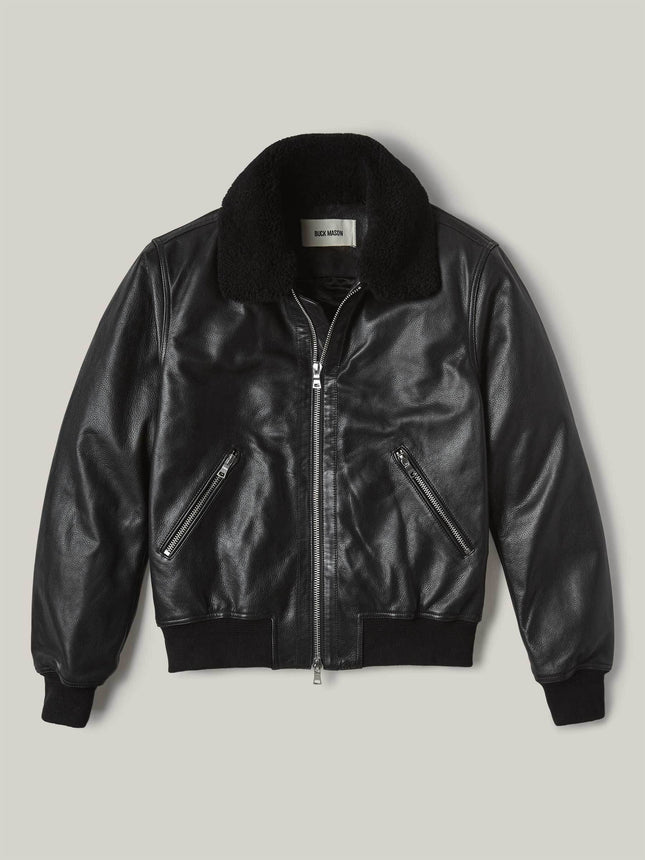 Full Grain Sundown Flight Jacket