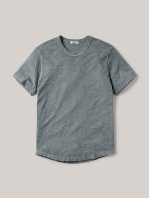 Gunpowder Venice Wash Slub Curved Hem Tee