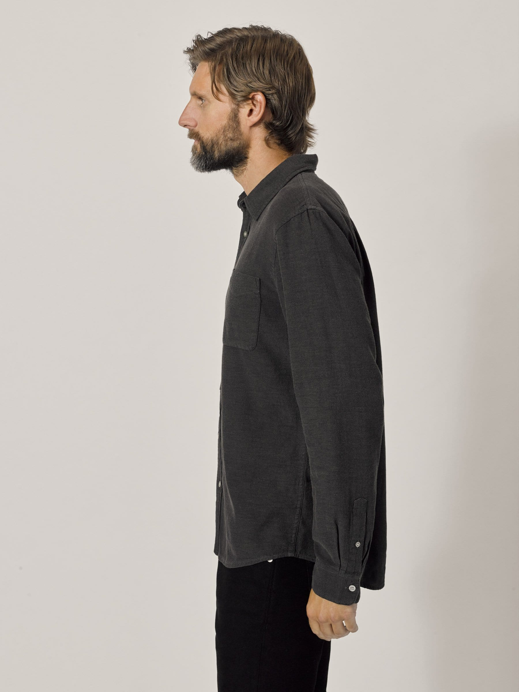 Buck Mason - Iron Pacific Twill Vintage One Pocket Shirt