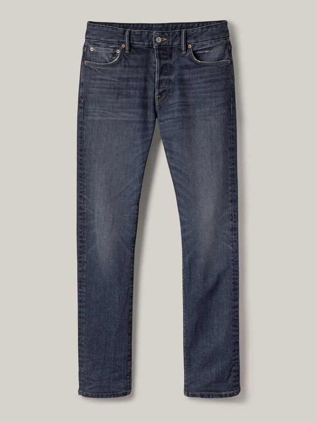 Buck Mason - M001 Medium Wash Maverick Slim Jean