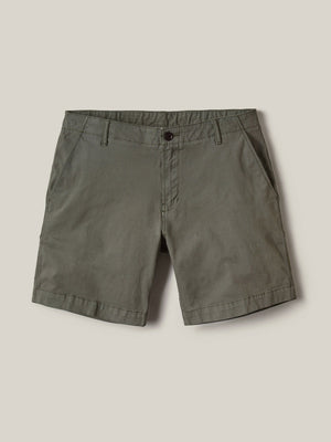 Moss Mojave Wash Vintage Canvas Walk Short