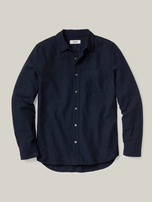 navy Pacific Twill Vintage One Pocket Shirt