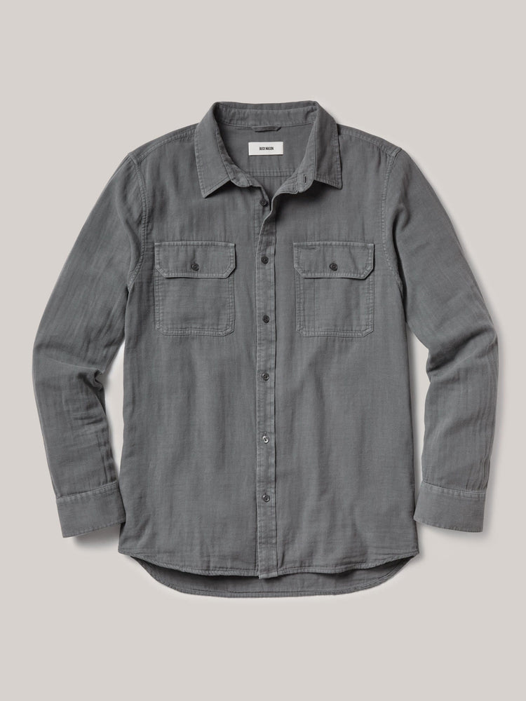 Steel Double Weave Vintage Two Pocket Shirt