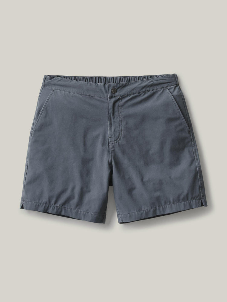 Vintage Blue Deck Short