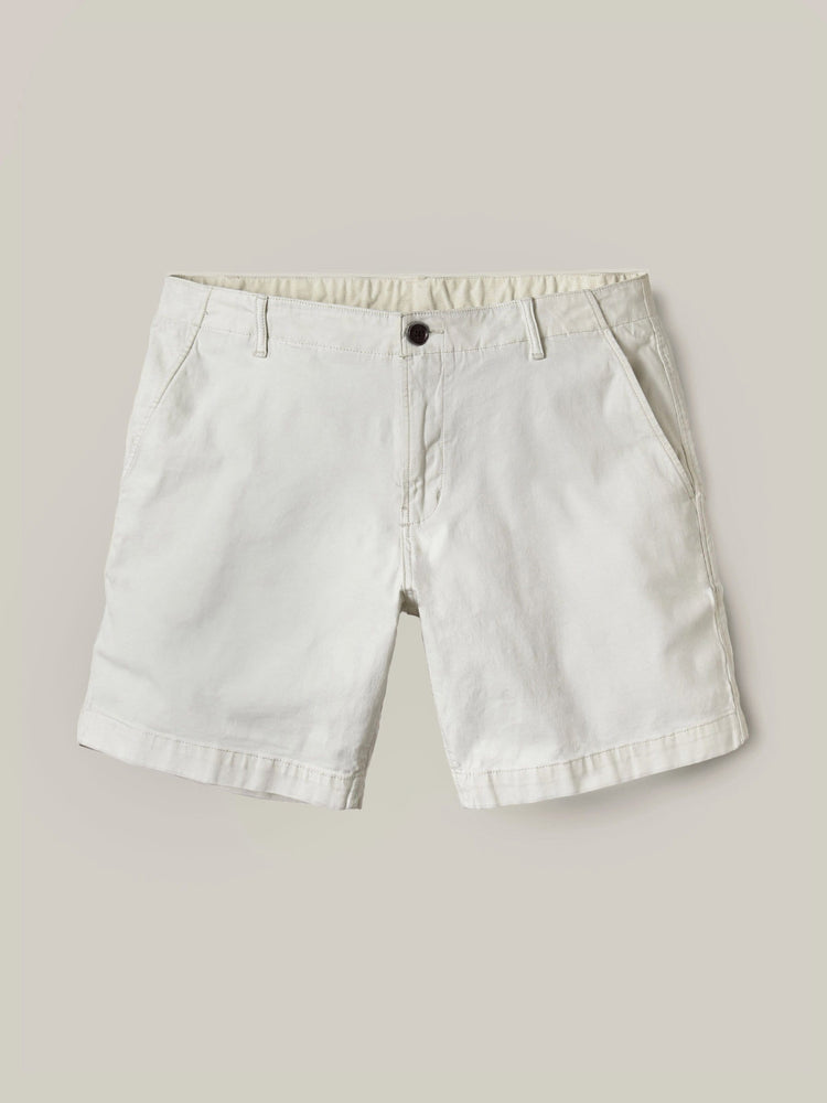 White Sand Vintage Canvas Walk Short