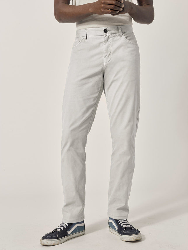 White Sand Vintage Canvas 5-Pocket Pant