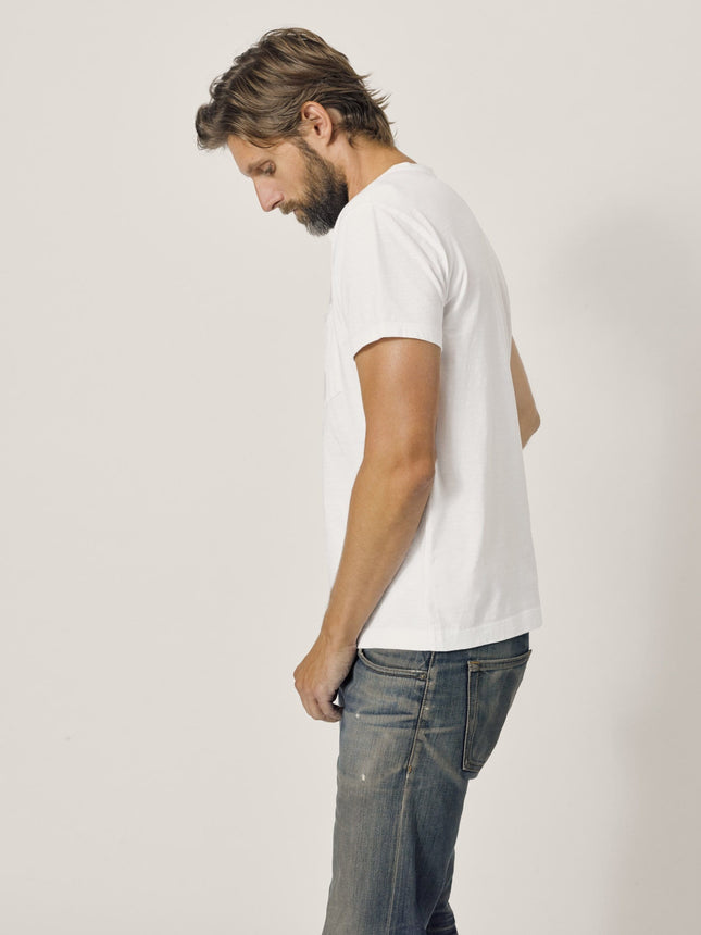 Buck Mason - White Slub Vintage Pocket Tee