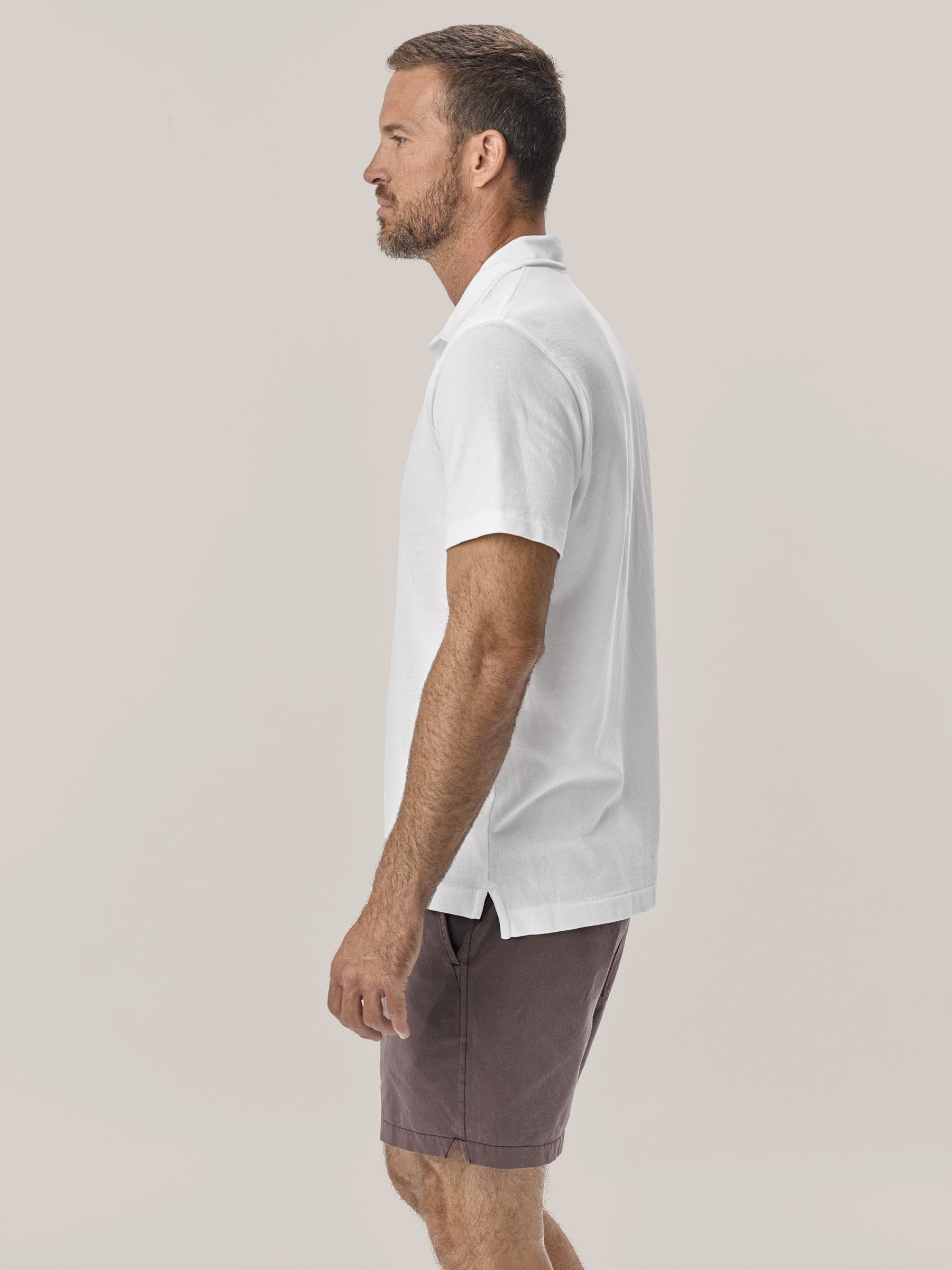 Buck Mason - White Pique Polo Shirt