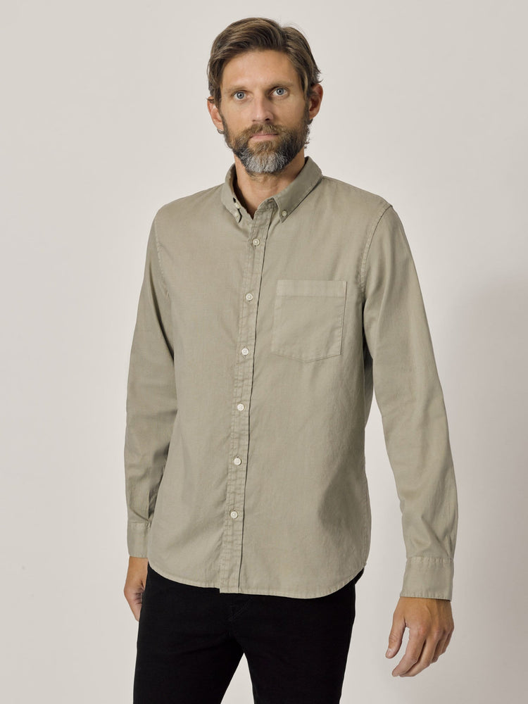 Yuma Perfect Oxford One Pocket Shirt