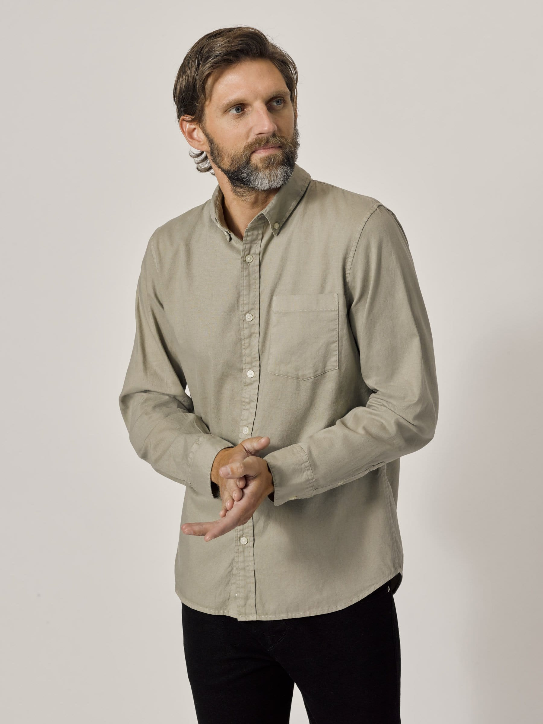 Buck Mason - Yuma Perfect Oxford One Pocket Shirt