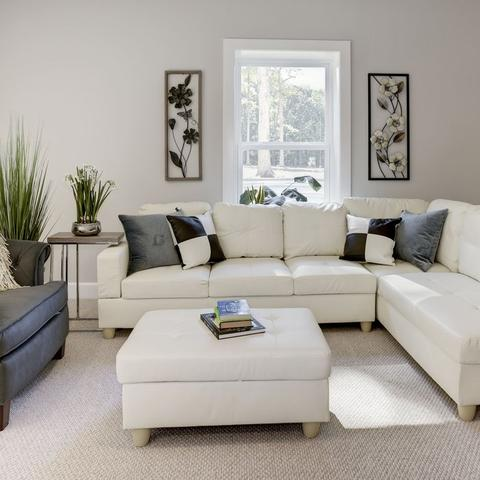 Peachy Russ Sectional With Ottoman Alphanode Cool Chair Designs And Ideas Alphanodeonline