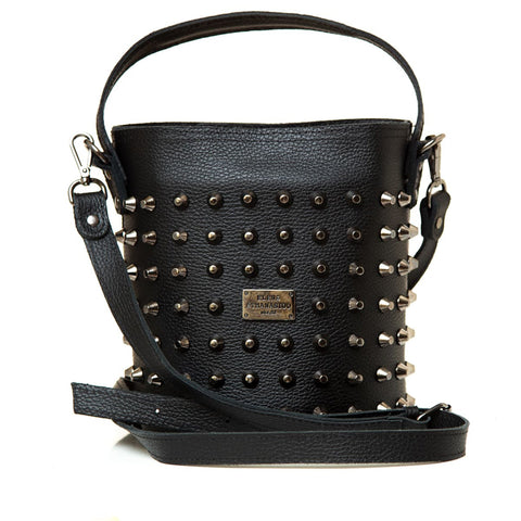 Γυναικεία τσάντα Elena Athanasiou - Basket Large black