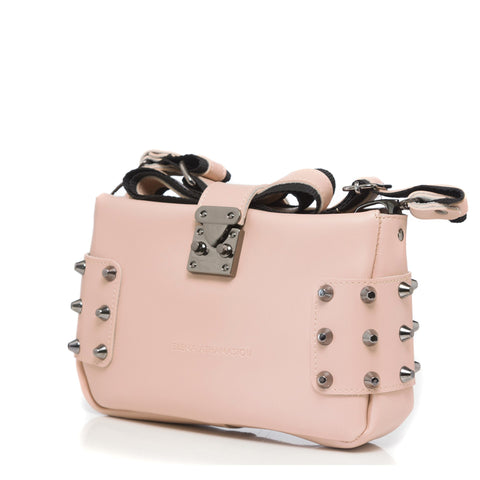Γυναικεία τσάντα Elena Athanasiou - City Lady Clutch baby pink