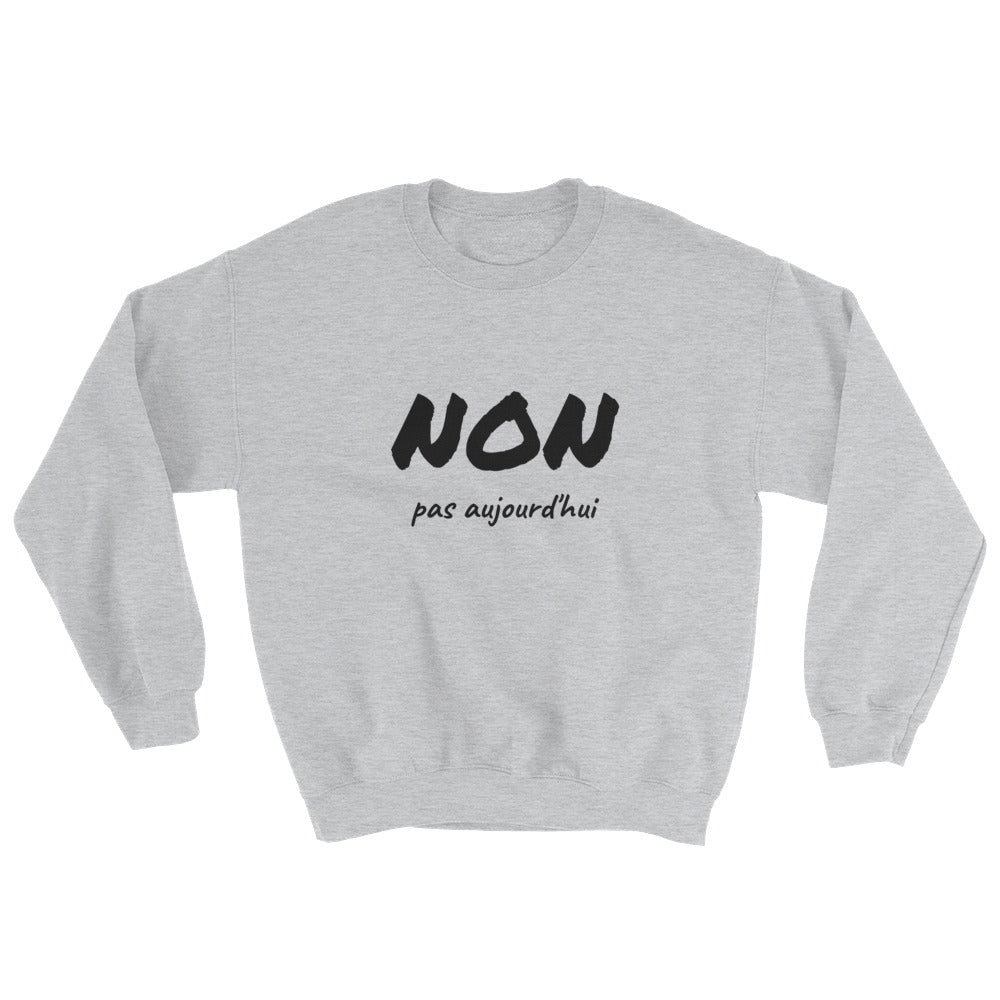 Sweat-shirt NON