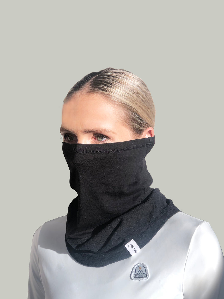 Face & Neck Gaiter - Black