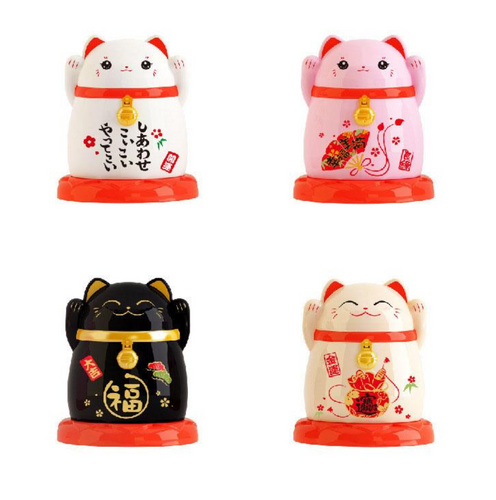 Lucky Cat Toothpick Holder