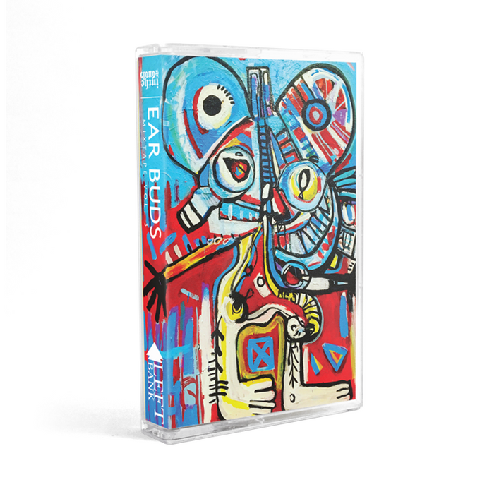 Left Bank Earbuds Cassette Mixtape