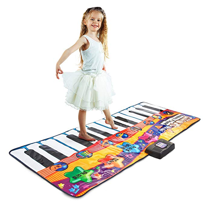 Gigantic Colorful Musical Children's Keyboard